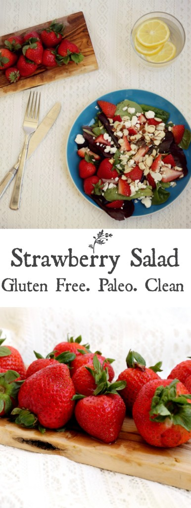 Strawberry Salad Pin