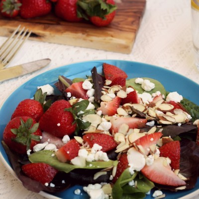 Strawberry Salad for Spring