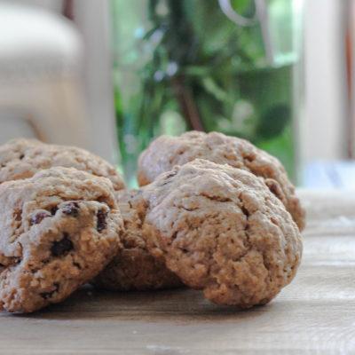 Golden Oatmeal Cookies