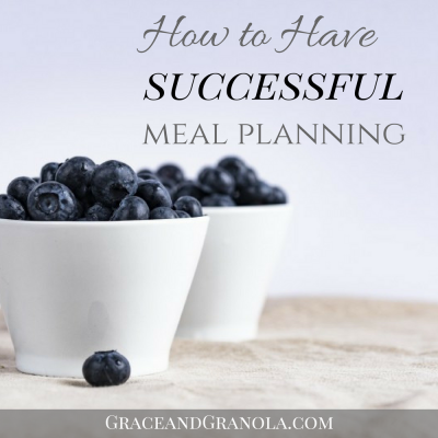 How to Prepare for Successful Meal Planning