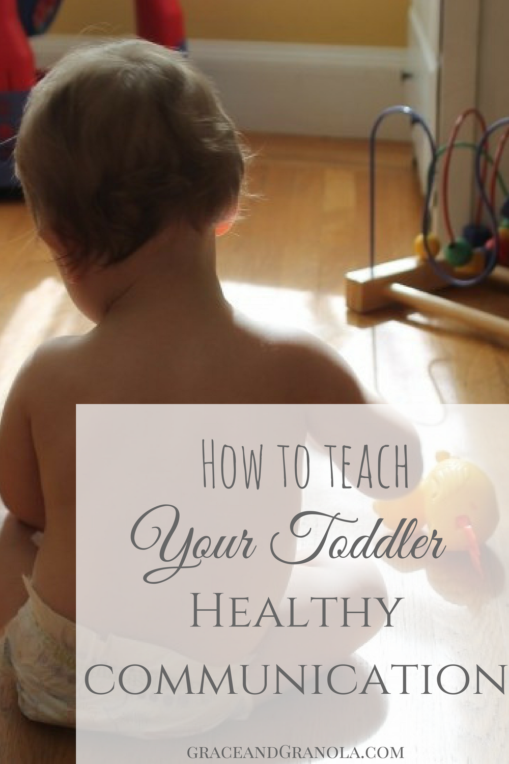 Healthy Communication for Toddlers